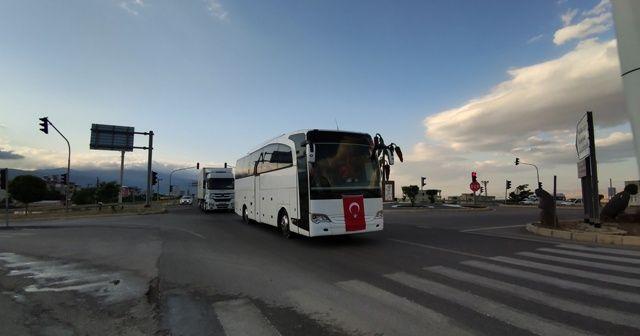 TSK'dan Suriye sınırına askeri personel sevkiyatı