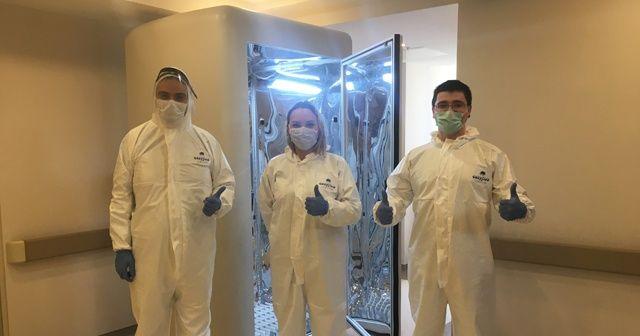 Türk bilim insanları geliştirdi; koronavirüsü 30 saniyede öldürüyor