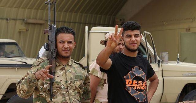 UMH güçleri, Hamza Kampını kurtardı