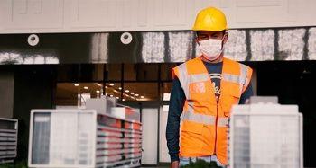 Başakşehir Çam ve Sakura Şehir Hastanesi yapımında görev alan işçilerden anlamlı mesaj