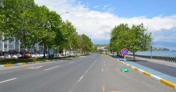 Bayramın son gününde Tekirdağ sokaklarında sessizlik hakim
