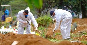 Brezilya'da Kovid-19 nedeniyle hayatını kaybedenlerin sayısı 22 bin 13'e yükseldi