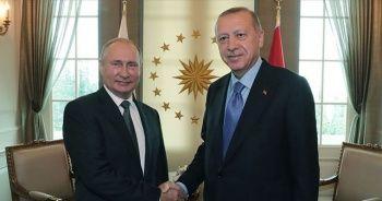 Cumhurbaşkanı Erdoğan'dan Putin'e 'Zafer Günü' mesajı
