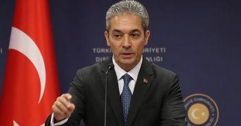 Dışişleri Sözcüsü Aksoy'dan AB Komisyonu Başkan Yardımcısı Schinas'ın 'göç' açıklamasına tepki