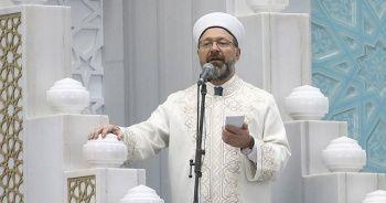 Diyanet İşleri Başkanı Erbaş Ramazan Bayramı hutbesini irat etti