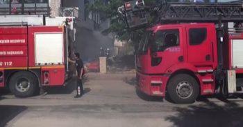 Hatay'da işyeri yangını