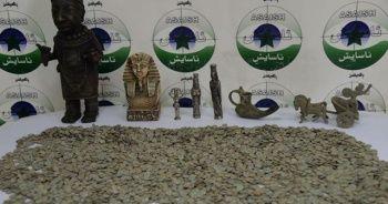 Irak'ta 5 bin adet sikke ve 7 tarihi eser ele geçirildi