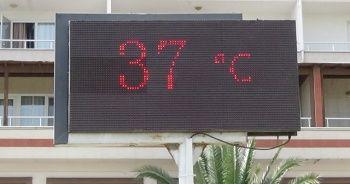 Kuzey Ege'de termometreler 37 dereceyi gösterdi