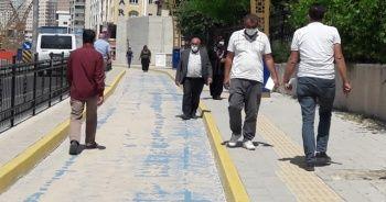 Mardin'de vatandaşlara maske takma zorunluluğu getirildi