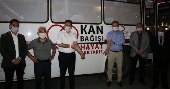 Öğretmenler kan bağışında bulunmak için birbirleriyle yarıştı