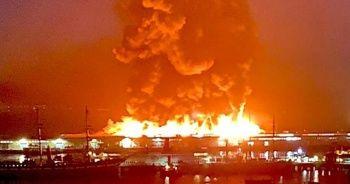 San Francisco'da 4. seviye yangın alarmı