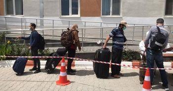 Somali ve Cibuti'den getirilerek karantinaya alınan vatandaşlar evlerine gönderildi