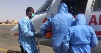 Sudan'da Kovid-19 tanısı konulan Türk vatandaşı tedavi için Türkiye'ye getirildi
