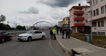 Tekirdağ'da 2 otomobil çarpıştı: 8 yaralı