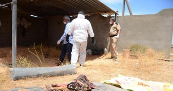 Trablus'ta bir aileye ait toplu mezar bulundu