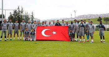 Trabzonspor çalışmalarına devam etti