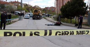 Vidanjörün altında kalan motosiklet sürücüsü hayatını kaybetti