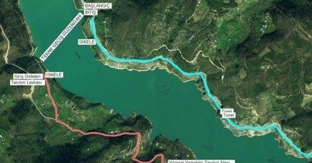 52 km'lik Türkiye'nin en uzun ekoturizm yolu Artvin'de hayata geçiriliyor