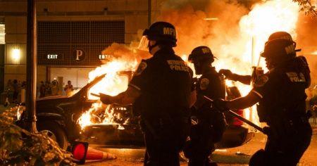 ABD'nin başkenti Washington'daki protestolarda gerilim sürüyor