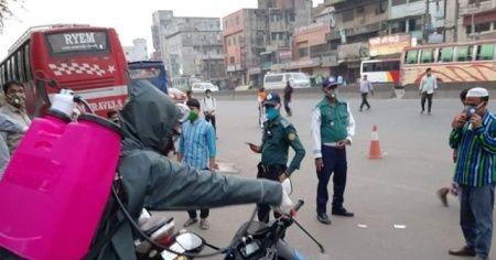 Bangladeş'te Covid-19 vaka sayısı 40 bini aştı
