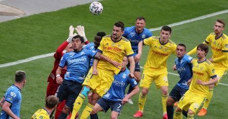 Belarus Kupası son saniye golüyle BATE'nin