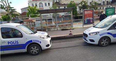 Beyazıt tramvay durağında erkek cesedi bulundu