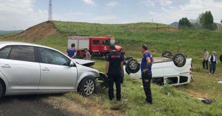Bingöl'de trafik kazası: 8 yaralı