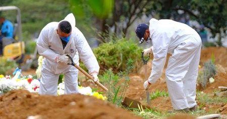 Brezilya'da Kovid-19 nedeniyle hayatını kaybedenlerin sayısı 23 bin 473'e yükseldi