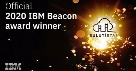 Bulutistan, IBM Beacon 2020 Ödülü'nü kazandı