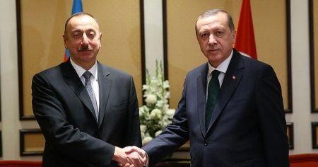 Cumhurbaşkanı Erdoğan, Azerbaycan Cumhurbaşkanı Aliyev ile telefonda görüştü