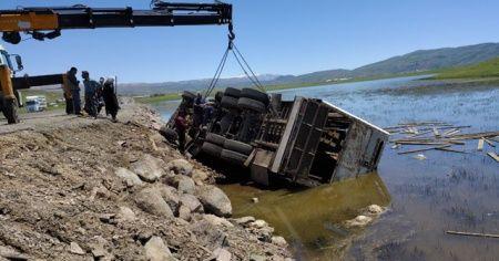 Feci kaza: 4 kişi yaralandı, çok sayıda koyun telef oldu