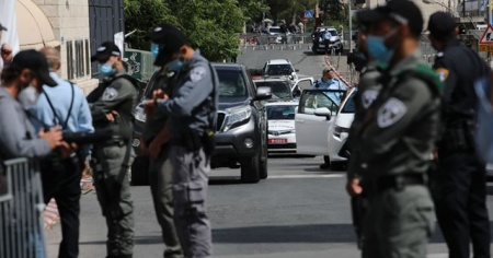 İsrail polisi Doğu Kudüs'te Filistinli bir genci yaraladı