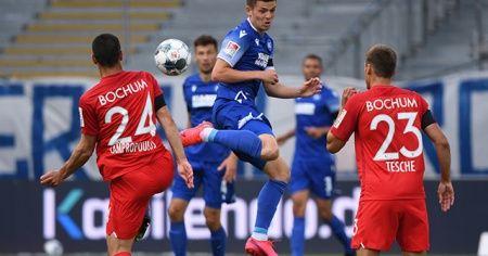 Karlsruher SC - Bochum maçında gol sesi yok