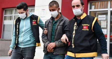 Manisa'da tartıştığı kişiyi öldüren zanlı tutuklandı