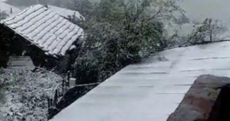 Mayıs ayında kar yağdı