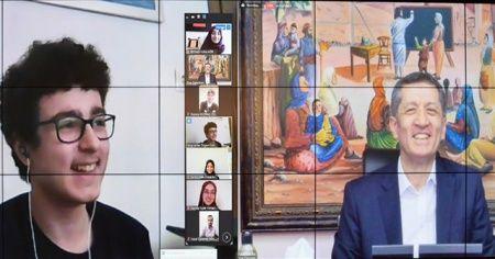 Milli Eğitim Bakanı Selçuk, imam hatip lisesi öğrencileriyle buluştu