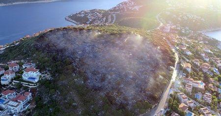 Sanatçı Haluk Levent'den Kaş yangını paylaşımı