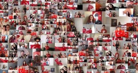 Türkiye Samsun'dan doğan marşta tek yürek oldu