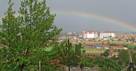 Yağmurun ardından gelen güzellik