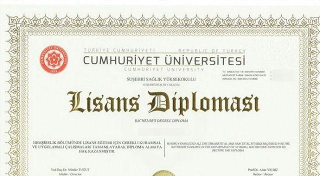 59 üniversitede  e-Diploma dönemi