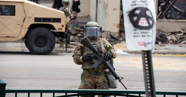 ABD ordusundan Washington'a ulusal muhafız yığınağı