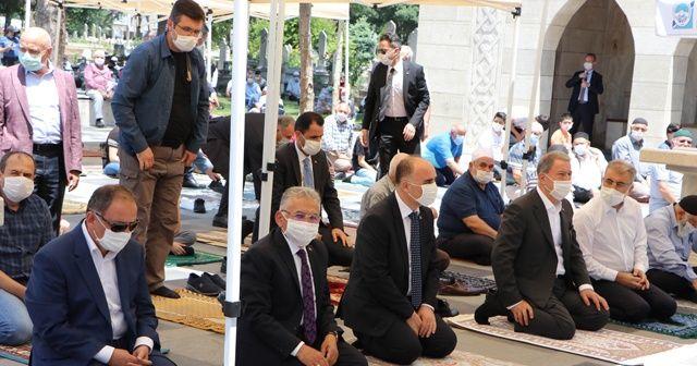 Bakan Akar'a vatandaşlardan sevgi seli: Allah sizlerden razı olsun