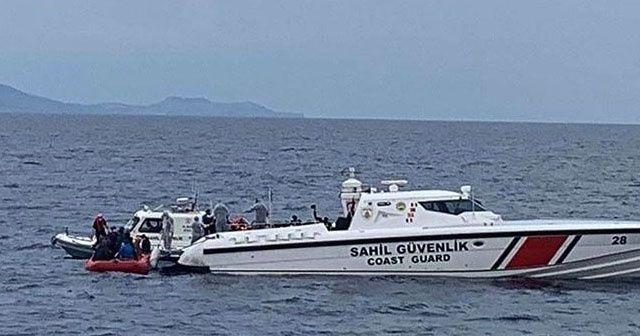 Balıkesir'de sığınmacıları taşıyan bot battı