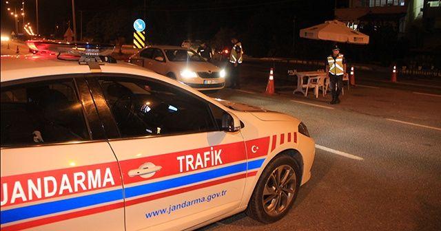 Balıkesir'de sınır kontrol noktaları kaldırıldı