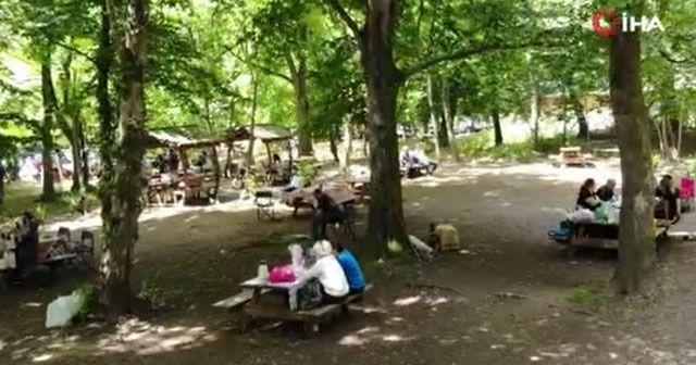 Belgrad Ormanı uzun bir aradan sonra yeniden doldu