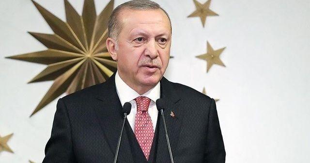 Cumhurbaşkanı Erdoğan: Mazlum ve mağdurlara sahip çıkmayı sürdüreceğiz