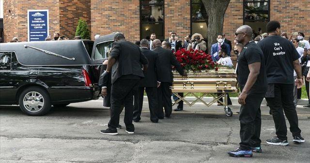 George Floyd için ilk cenaze töreni Minneapolis'te düzenlendi