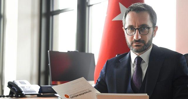 İletişim Başkanı Altun: ANTİFA'nın gerçek yüzünü gördük
