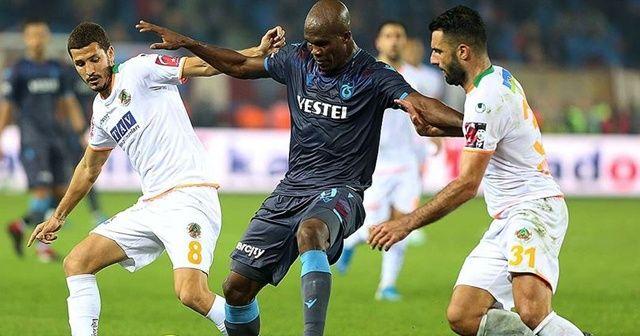 Kupa finalistleri Alanya'da Süper Lig mücadelesinde