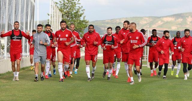 Sivasspror, Denizlispor maçına hazırlanıyor
